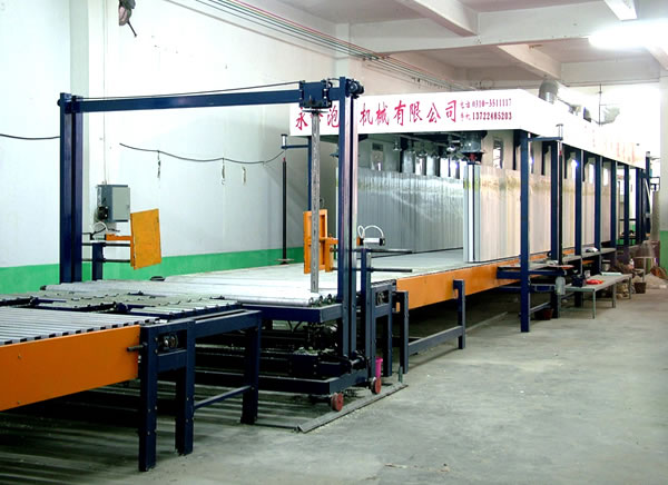 Horizontal Automatic Continuous Foaming Machine